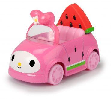 لعبة مركبة وسكوتر هيلو كيتي JADA -  Macaroon + Melody Watermelon