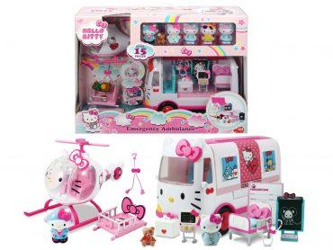 لعبة مجموعة الإسعافات JADA - Hello Kitty Rescue Set
