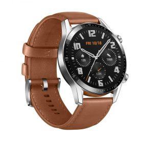 ساعة ذكية GT 2  من Huawei - حزام بني