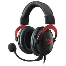 سماعة ألعاب Hyper X PC Gaming Headset Cloud II - أحمر