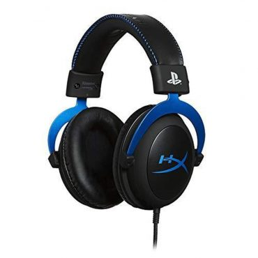 سماعة ألعاب Hyper X PS4 Cloud Gaming Headset  - أزرق