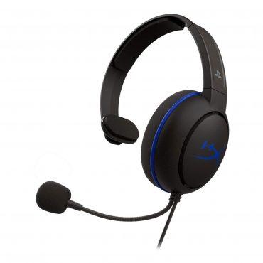 سماعة الدردشة Hyper X PS4 Licensed Cloud Chat Headset - أسود