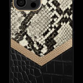 كفر iDeal of Sweden - ATELIER Apple iPhone 12 Pro Max Case - Midnight Python