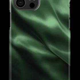 كفر iDeal of Sweden - SATIN Apple iPhone 12 Pro Max Case - Emerald Satin