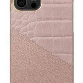 كفر iDeal of Sweden - ATELIER Apple iPhone 12 Pro Case - Rose Smoke Croco