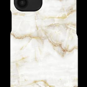 كفر iDeal of Sweden - MARBLE Apple iPhone 12 Mini Case - Golden Pearl Marble