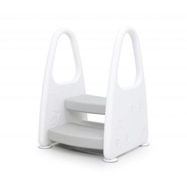كرسي متدرج للأطفال iFam - Safe Guard Step Stool - رمادي