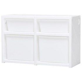 خزانة مزدوجة IFAM - MYPICK MODULAR ORGANIZER 2 LEVEL DOUBLE - أبيض