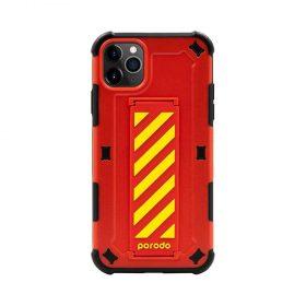 كفر iPhone 11 Pro Max من بورودو - أحمر