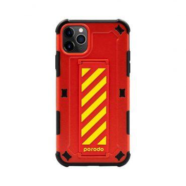 كفر iPhone 11 Pro  من بورودو - أحمر