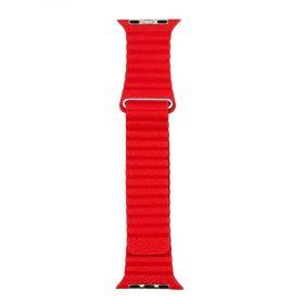 حزام ساعة آبل 42/44 ملم من Porodo - أحمر