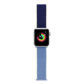 حزام ساعة آبل 42/44 ملم من Porodo - أزرق
