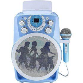 جهاز Karaoke للأطفال مع ميكروفون IHOME - أزرق