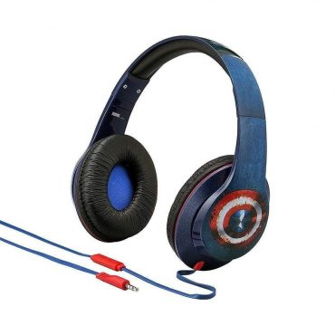 سماعة رأس Kiddesigns  مع ميكروفون iHOME - أزرق