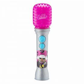لعبة ميكروفون محمول للأطفال KIDdesigns - LOL SURPRISE Sing Along Karaoke Microphone for Kids