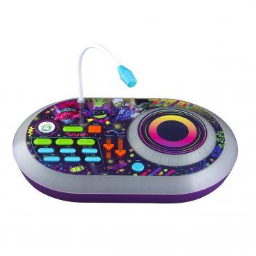 لعبة دي جي للأطفال KIDdesigns - Trolls 2 World Tour DJ Trollex  Party Mixer