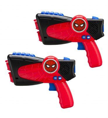 لعبة مسدس الليزر KIDdesigns - Laser Tag Gun Marvel Spiderman