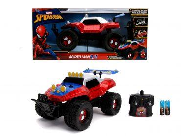 لعبة سيارة Jada - Marvel RC Spiderman Buggy 1:14