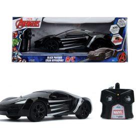 لعبة سيارة Jada - Marvel RC Black Panther Lykan 1:16