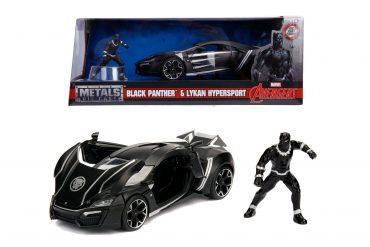 لعبة سيارة Jada - Marvel Avengers Lykan Hypersport 1:24