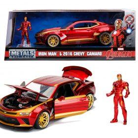 لعبة سيارة Jada - Marvel Ironman 2016 Chevy Camaro SS 1:24