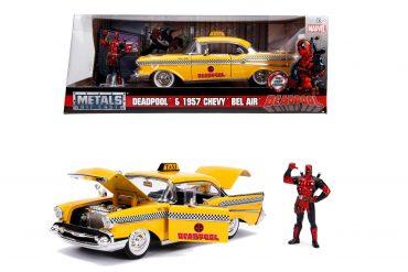 لعبة سيارة تاكسي Jada - Marvel Yellow Taxi 1:24