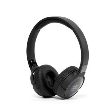 سماعات رأس لاسلكية مع ميكروفون t500 من jbl - أسود