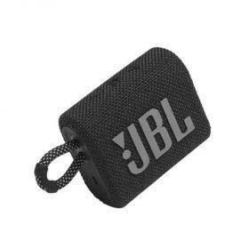 سبيكر لاسلكي JBL GO 3 Portable Waterproof Wireless Speaker - Black