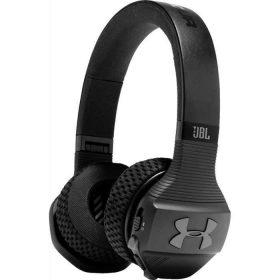 سماعة رأس لاسلكية للتمارين الرياضية UA من JBL - أسود