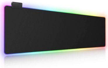 لوحة ماوس مضيئة للألعاب RGB Gaming Mouse Pad