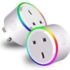 قابس ذكي (Wifi Smart Plug ( 2 Pcs in1 Pack