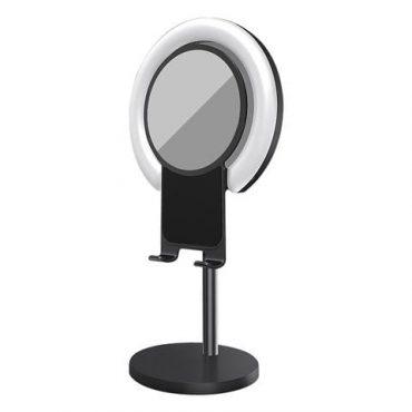ستاند مع إضاءة ومرآة
