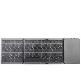 كيبورد محمول قابل للطي يعمل مع الهواتف والأجهزة اللوحية - Bluetooth Wireless Keyboard