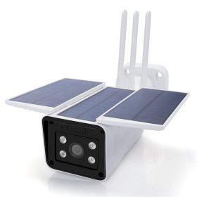 كاميرا المراقبة الخارجية بالطاقة الشمسية REHENT - App Controlled Wireless Rechargeable Battery 4G Solar Camera 1080P