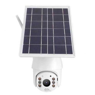 كاميرا مراقبة خارجية بالطاقة الشمسية 360 درجة