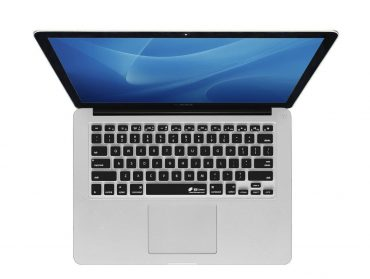 كفر لوحة مفاتيح KB Covers - Keyboard Cover for MacBook Air 2018 - أسود