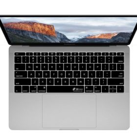 كفر لوحة مفاتيح KB Covers - Keyboard Cover for MacBook Pro - 13 / 15 بوصة - أسود