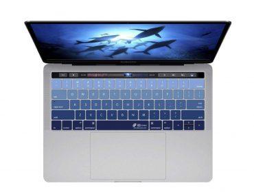 كفر لوحة مفاتيح KB Covers - Keyboard Cover for MacBook Pro - 13 / 15 بوصة - أزرق