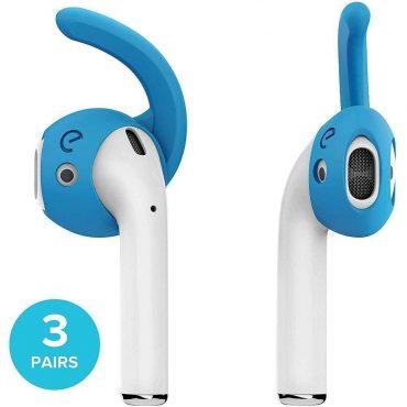 خطافات وأغطية سماعات KeyBudz - Earbudz - Ear Hooks and Covers 2.0 - 3 أزواج / أزرق