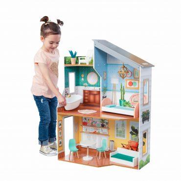لعبة بيت الدمى KidKraft - Emily Dollhouse