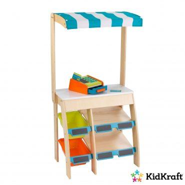 لعبة عربة البيع KidKraft - Grocery Marketplace