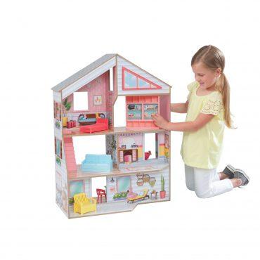 لعبة بيت الدمى المزدوج KidKraft - Charlie Dollhouse