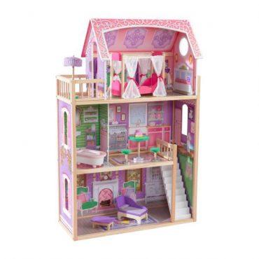 لعبة بيت الدمى KidKraft - Ava Dollhouse - زهري