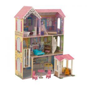 لعبة بيت الدمى KidKraft - Veronica Dollhouse - زهري