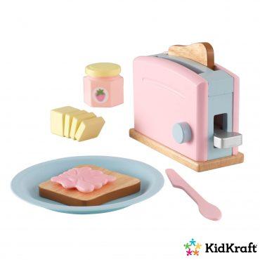 لعبة التوستر KidKraft -Toaster Set - زهري / أزرق