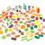 مجموعة ألعاب الطعام KidKraft - Deluxe Tasty Treats Pretend Play Food