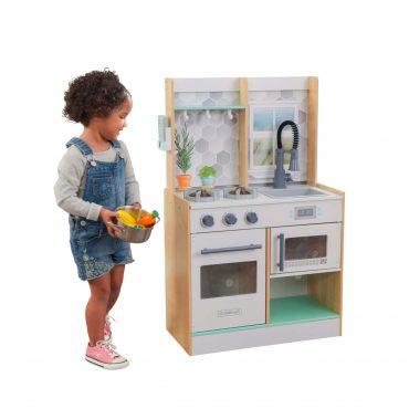مطبخ للأطفال KidKraft - Let's Cook Play Kitchen - Natural
