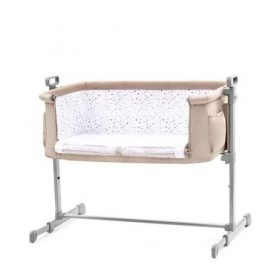Kinderkraft سرير أطفال Baby cot Neste Grow beige