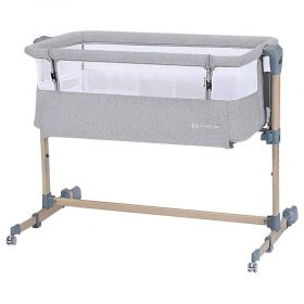 Kinderkraft سرير أطفال  Baby cot Neste Grow grey