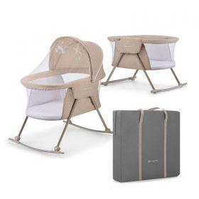Kinderkraft Baby سرير سفر قابل للطي cot/cradle LOVI beige